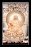 Phật Di Lặc 018 (Laminater gỗ đổ bóng)