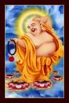 Phật Di Lặc 019 (Laminater gỗ đổ bóng)