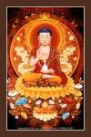 Phật Dược Sư 020 (Laminater gỗ đổ bóng)