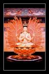 Phật trăm tay 028C (Laminater gỗ đổ bóng)