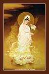 Phật Quán Thế Âm 032 (Laminater gỗ đổ bóng)