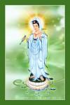 Phật Quán Thế Âm 038 (Laminater gỗ đổ bóng)