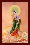 Phật Quán Thế Âm 039 (Laminater gỗ đổ bóng)