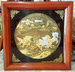 Tranh đồng vàng, Mã Đáo Quần Phong-A210