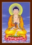 Phật Dược Sư 061 (Laminater gỗ đổ bóng)