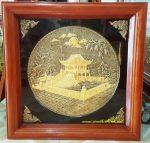 Chùa Một Cột Hà Nội, Tranh đồng vàng-A212