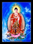 Phật ADIDA 105 ( tranh gỗ đổ bóng)