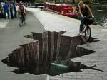 Nghệ thuật đường phố, vượt mọi giới hạn