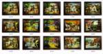 15 Mẫu tranh sơn mài vẽ Phố tại Hà nội – SM229