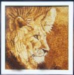 Tranh gạo sư tử II