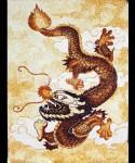 Tranh gạo Tranh rồng