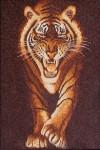 Tranh gạo Hổ