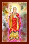 Phật Địa Tạng Bồ Tát 187 (Laminater gỗ đổ bóng)