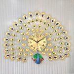 Đồng hồ nghệ thuật trang trí chim công 1928