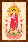 Phật ADIDA 212 (tranh gỗ đổ bóng)