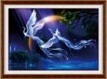 Vũ điệu khổng Tước-mẫu thêu-ya487