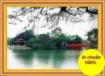 Cầu thê Húc, mẫu thêu chữ thập -DLH222066
