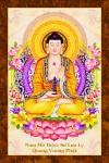 Phật Dược Sư 225 (ép laminater đổ bóng)