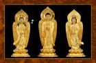 Phật Tam Thánh 239 (ép laminater đổ bóng