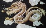 Tranh gạo Rồng