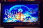 Tranh lịch ,Phật tiếp dẫn thánh chúng ADIDA- MS618