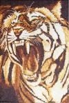 Tranh gạo hổ hoang dã