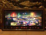 Tranh lịch vạn niên, Thành phố hiệu ứng đèn pháo hoa – MS410