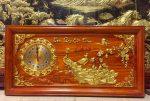 Tranh gỗ hương đỏ, Phú Quý Cát Tường – TG013