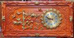 Tranh gỗ hương đồng hồ chữ Lộc – 4204
