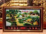 Đồng hồ điện vạn niên Đồng quê -442