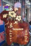 Đốc lịch gỗ hương ,Hoa mai nở – TG010