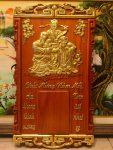 Đốc lịch gỗ hương đỏ, Phúc Lộc Thọ – 4703