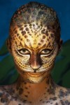 Bộ ảnh body painting vẽ lên cơ thể người mẫu khỏa thân tuyệt đẹp