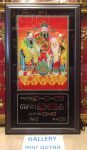 Tranh đồng hồ vạn niên,Phúc Lộc Thọ – MS629