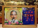 Đồng hồ điện lịch van niên Bác Hồ -631