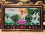 Tranh lịch vạn niên ,Phật Bà quan âm- 68651
