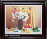 Tranh lụa hoa quả IL075