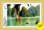 Vịnh Hạ Long-mẫu thêu-dlh222067