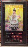 Tranh lịch, Phật Quan Âm 3D đèn led – 802