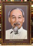 Chân dung Chủ tịch Hồ Chí Minh kính yêu -IN37