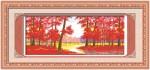 Rừng lá đỏ (Tranh thêu chữ thập)YH315