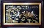 Tranh đồng mạ vàng bạc, Mã đáo thành công -A188