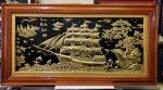 Tranh đồng vàng -Thuận Buồm Xuôi Gió -A202s