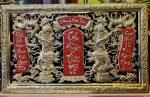 Liễn thờ tổ tiên – Cửu huyền thất tổ ( đồng vàng nguyên chất ) A227