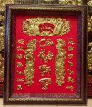 Tranh đồng thờ cúng cửu huyền thất tổ- A239 (50x60cm)