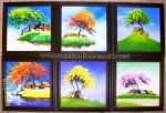 Tranh sơn dầu phong cảnh ấn tượng- AT03