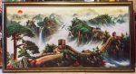 Tranh dầu canvas , sơn thuỷ Vạn Lý Trường Thành -CA04