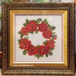 Thêu chữ thập hoa hồng tình yêu-CT67