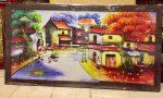Tranh canvas, Phố cổ Hà Nội- CV10