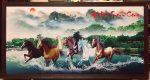 Tranh dầu canvas , Mã đáo thành công – CV05